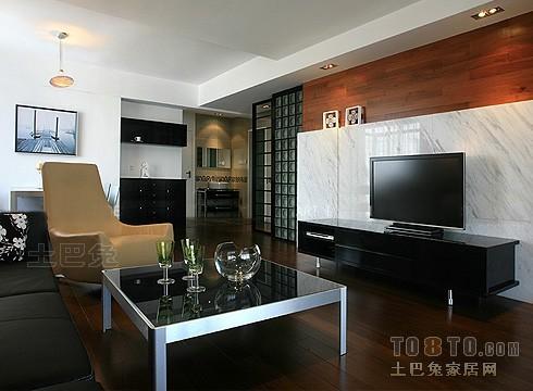 精选102平大小混搭三居装修效果图片客厅潮流混搭客厅设计图片赏析
