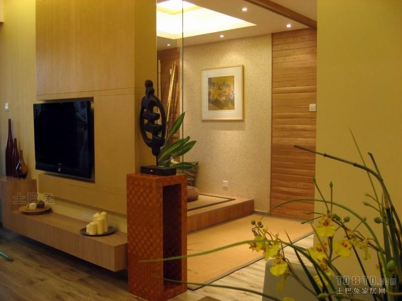 平米二居客厅混搭装修欣赏图片客厅潮流混搭客厅设计图片赏析