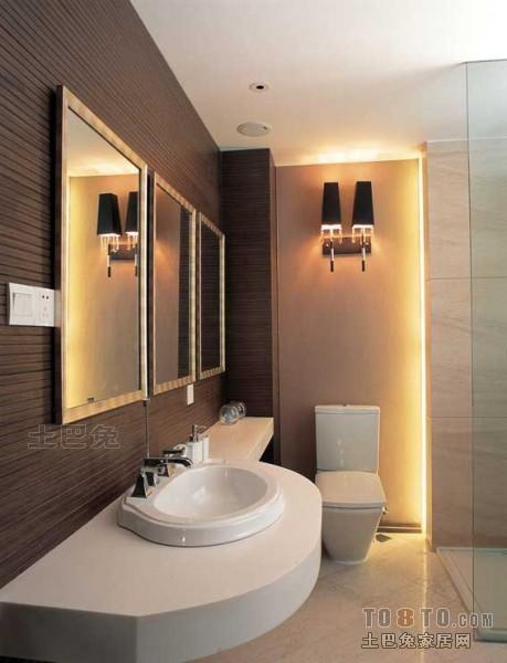 华丽93平混搭三居卫生间设计效果图卫生间潮流混搭卫生间设计图片赏析