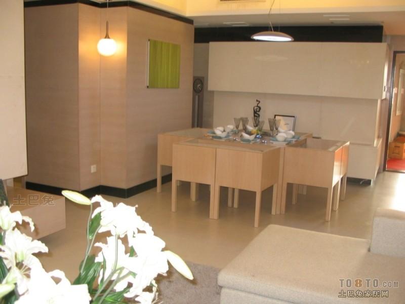 精美100平方三居餐厅混搭装修欣赏图厨房潮流混搭餐厅设计图片赏析