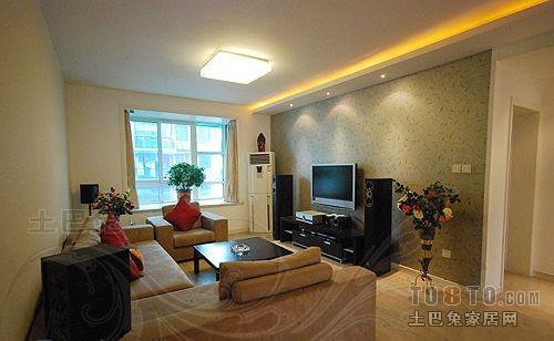 精美混搭3室装修设计效果图片102平客厅潮流混搭客厅设计图片赏析