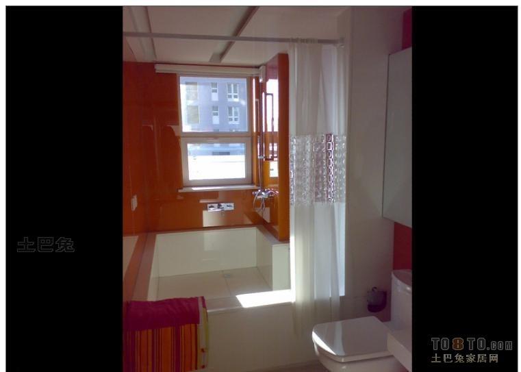 精选104平米三居卫生间混搭装修实景图片欣赏卫生间潮流混搭卫生间设计图片赏析