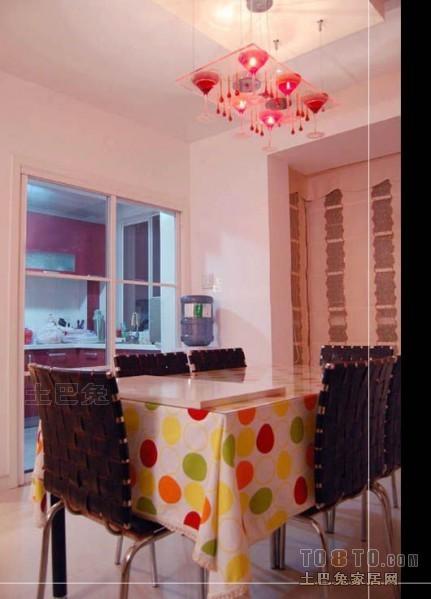 精选面积83平混搭二居餐厅欣赏图厨房潮流混搭餐厅设计图片赏析