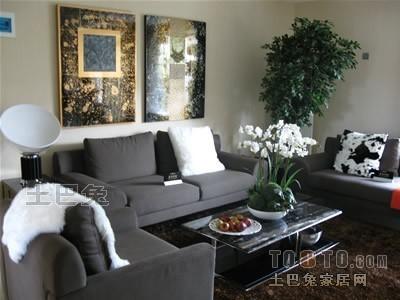 精美混搭3室客厅装修欣赏图片大全102平客厅潮流混搭客厅设计图片赏析