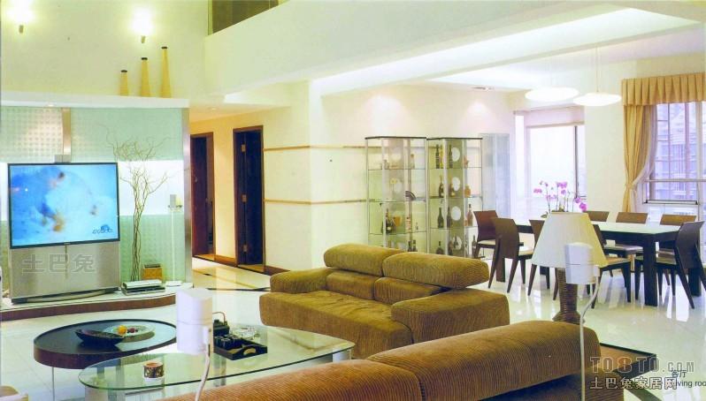 面积124平复式客厅混搭装修效果图片欣赏客厅潮流混搭客厅设计图片赏析