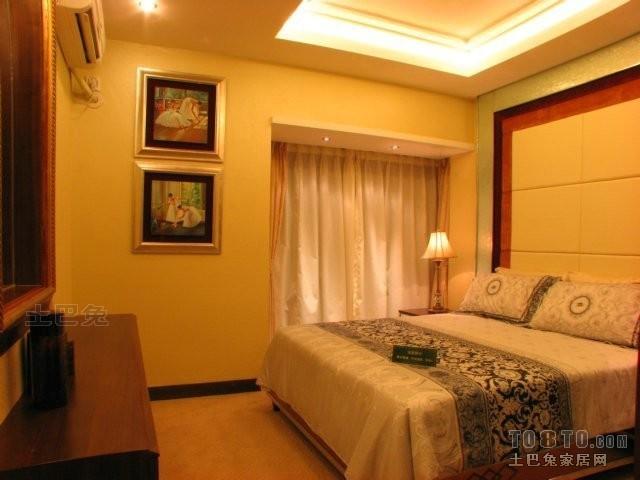 精美90平方二居卧室混搭装修图片欣赏卧室潮流混搭卧室设计图片赏析