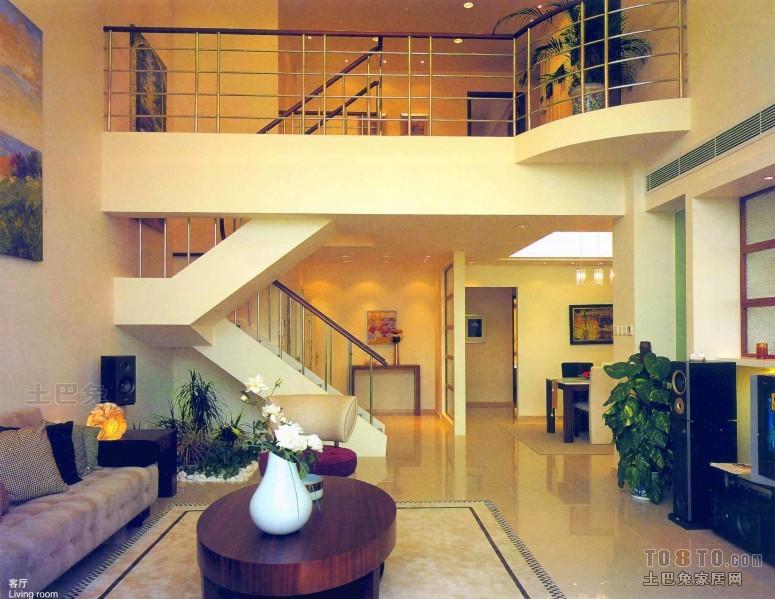 平米混搭复式客厅装修欣赏图客厅潮流混搭客厅设计图片赏析