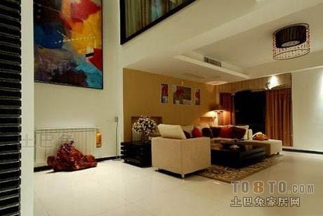 温馨69平混搭复式客厅设计图客厅潮流混搭客厅设计图片赏析