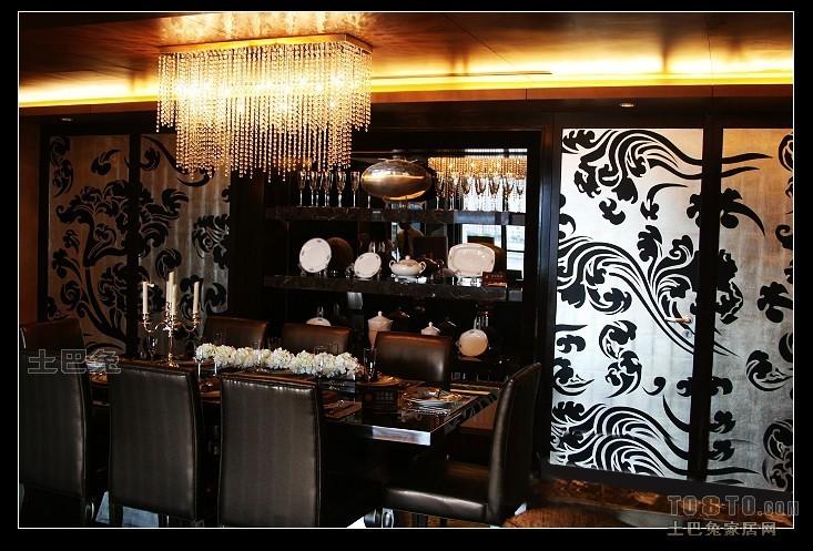 热门大小80平混搭二居餐厅装修效果图片大全厨房潮流混搭餐厅设计图片赏析