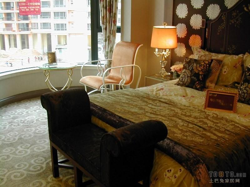 精美95平米三居卧室混搭欣赏图卧室潮流混搭卧室设计图片赏析