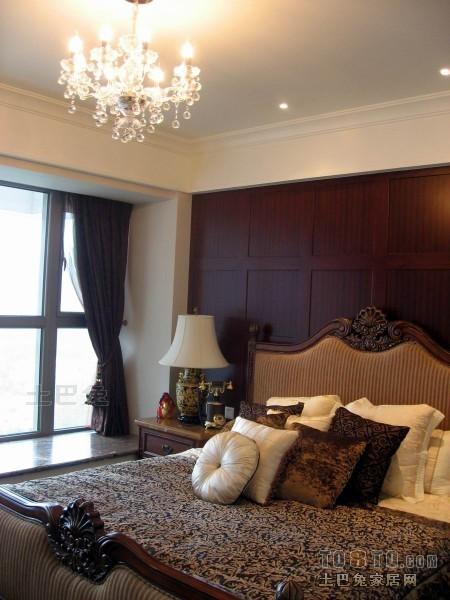 大气154平混搭四居卧室装潢图卧室潮流混搭卧室设计图片赏析