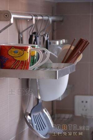 精美混搭三居厨房效果图餐厅潮流混搭厨房设计图片赏析