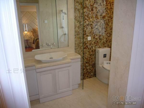 热门面积123平混搭四居卫生间装修实景图片欣赏卫生间潮流混搭卫生间设计图片赏析
