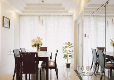 精美大小95平混搭三居餐厅装修实景图片厨房潮流混搭餐厅设计图片赏析