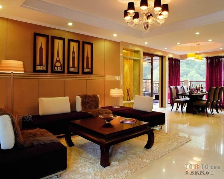 浪漫108平混搭四居客厅设计图客厅潮流混搭客厅设计图片赏析