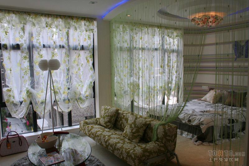 典雅26平混搭小户型客厅装修案例客厅潮流混搭客厅设计图片赏析