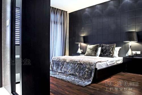 温馨56平混搭复式卧室图片欣赏卧室潮流混搭卧室设计图片赏析