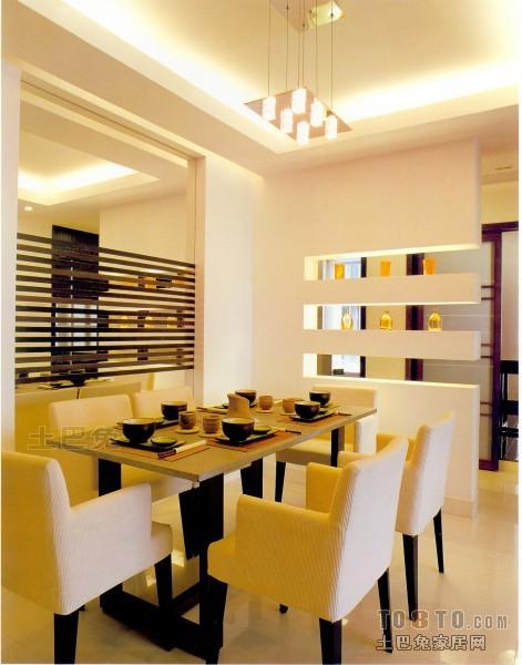 热门面积92平混搭三居餐厅装修设计效果图片欣赏厨房潮流混搭餐厅设计图片赏析