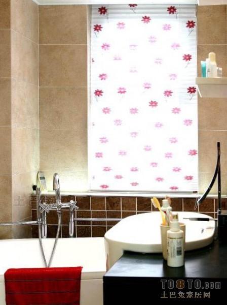 热门面积76平混搭二居卫生间装修实景图片欣赏卫生间潮流混搭卫生间设计图片赏析