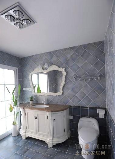 质朴83平混搭复式卫生间实景图片卫生间潮流混搭卫生间设计图片赏析