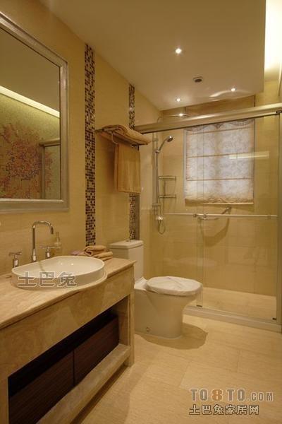 平混搭三居卫生间设计案例卫生间潮流混搭卫生间设计图片赏析