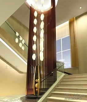 宾馆大堂楼梯装修设计