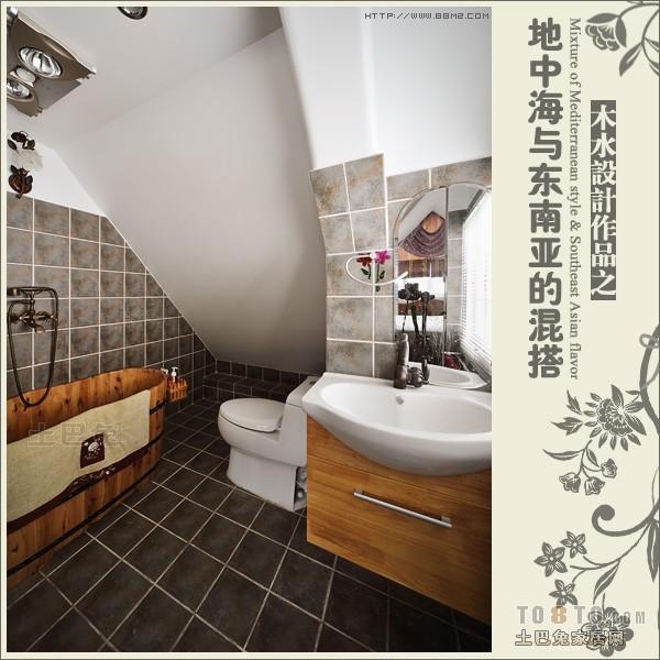 卫生间4.jpg卫生间潮流混搭卫生间设计图片赏析