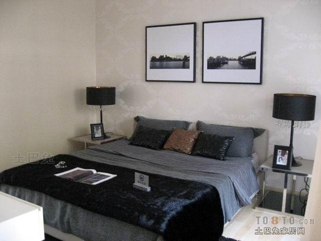 平米四居卧室混搭效果图卧室潮流混搭卧室设计图片赏析