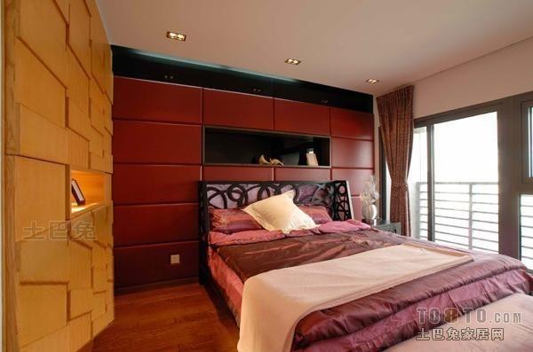 精选面积96平混搭三居卧室效果图卧室潮流混搭卧室设计图片赏析
