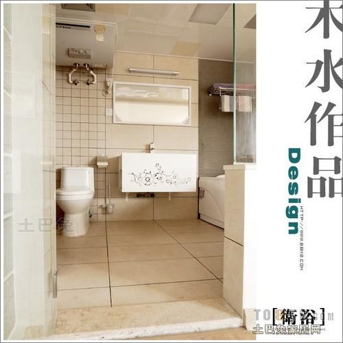 轻奢42平混搭复式卫生间美图卫生间潮流混搭卫生间设计图片赏析