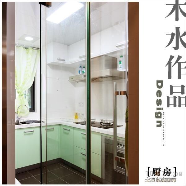 温馨109平混搭三居厨房实景图片餐厅潮流混搭厨房设计图片赏析