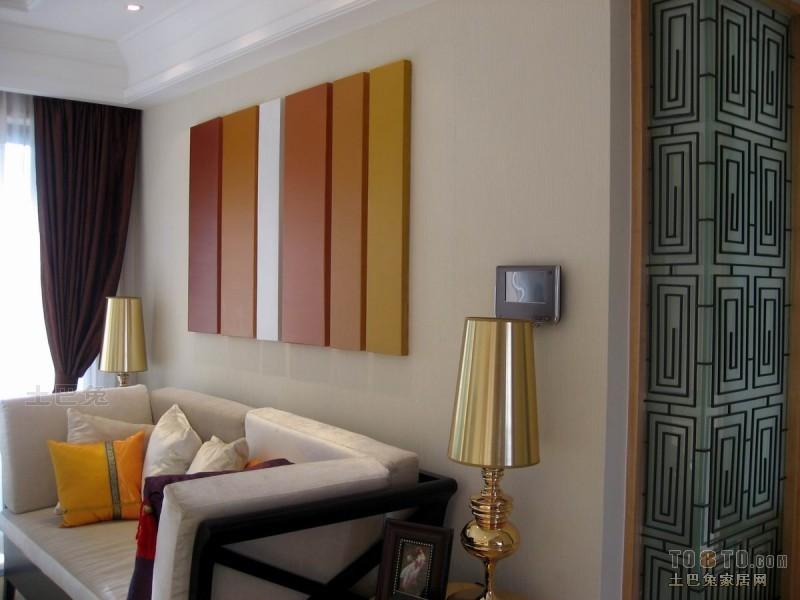 精美混搭装修欣赏图片大全90平客厅潮流混搭客厅设计图片赏析