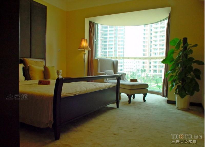 平混搭三居卧室设计案例卧室潮流混搭卧室设计图片赏析