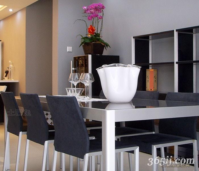 平米三居餐厅混搭欣赏图厨房潮流混搭餐厅设计图片赏析