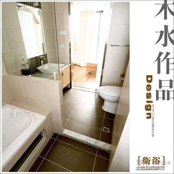 混搭复式卫生间装修图片大全卫生间潮流混搭卫生间设计图片赏析