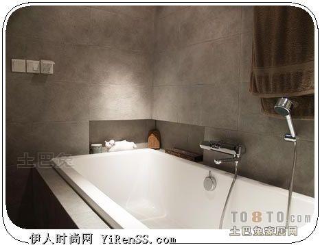 优美84平混搭二居卫生间案例图潮流混搭设计图片赏析