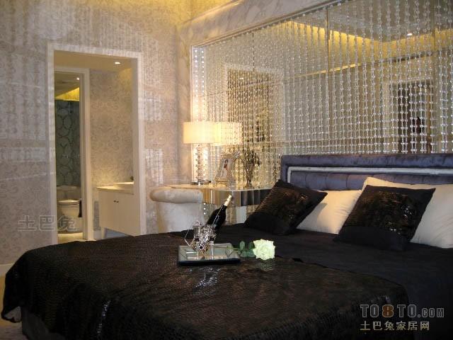 面积109平混搭三居卧室装修效果图片欣赏卧室潮流混搭卧室设计图片赏析