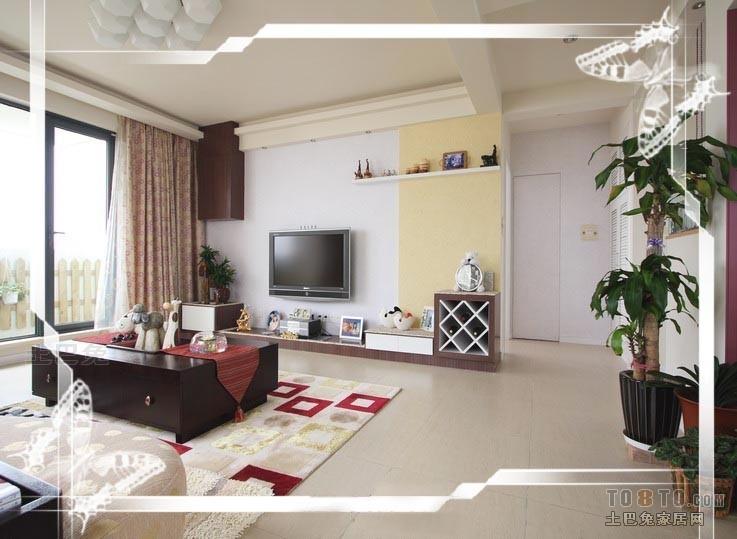 平混搭二居客厅装潢图客厅潮流混搭客厅设计图片赏析