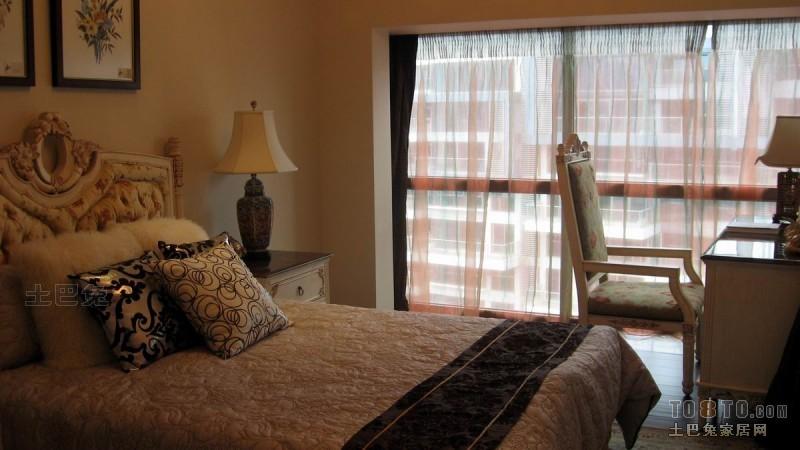 2018面积120平混搭四居卧室装修欣赏图片大全卧室潮流混搭卧室设计图片赏析