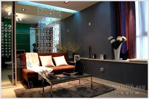 精美71平方二居客厅混搭设计效果图客厅潮流混搭客厅设计图片赏析