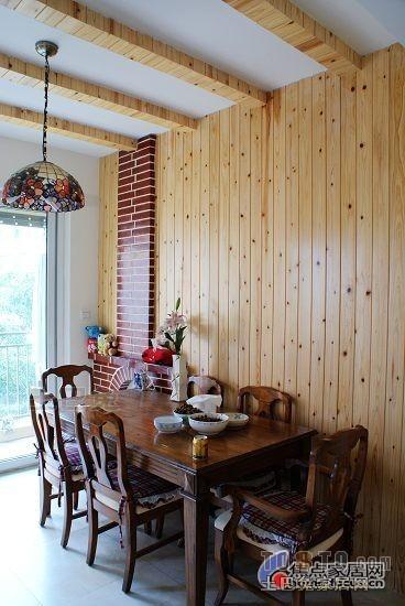 105平方三居餐厅混搭实景图片大全厨房潮流混搭餐厅设计图片赏析