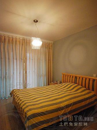热门大小108平混搭三居卧室装修设计效果图片卧室潮流混搭卧室设计图片赏析