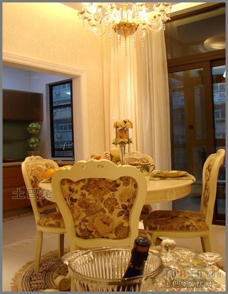 精美95平方三居餐厅混搭装饰图片欣赏厨房潮流混搭餐厅设计图片赏析