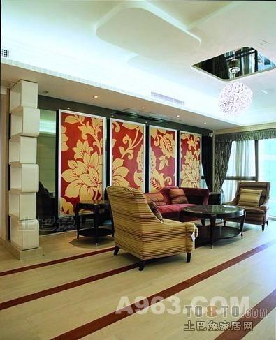 精选141平米四居客厅混搭装修效果图片欣赏客厅潮流混搭客厅设计图片赏析
