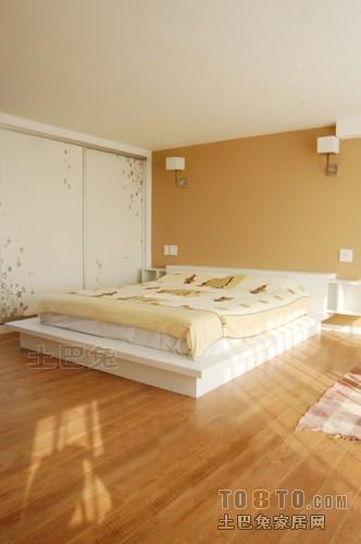 热门面积133平复式卧室混搭装修设计效果图片欣赏卧室潮流混搭卧室设计图片赏析