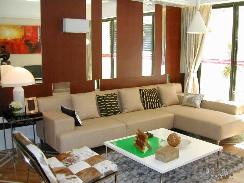 面积112平混搭四居客厅装修欣赏图客厅潮流混搭客厅设计图片赏析