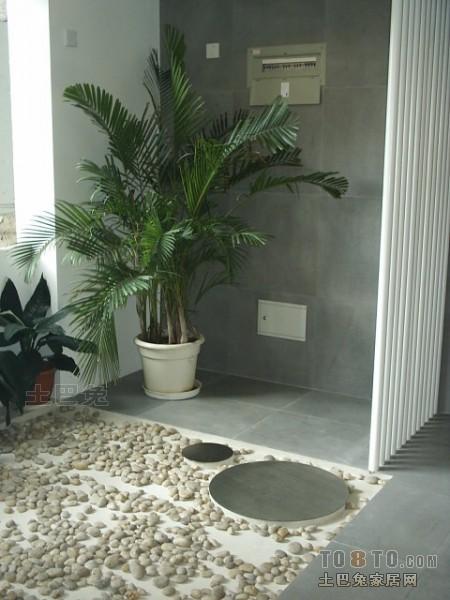 精选97平米三居花园混搭实景图功能区潮流混搭功能区设计图片赏析