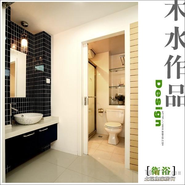 华丽80平混搭三居卫生间实景图卫生间潮流混搭卫生间设计图片赏析