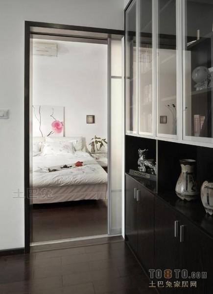 精美127平米四居卧室混搭实景图片欣赏卧室潮流混搭卧室设计图片赏析