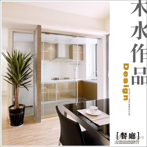 简洁63平混搭二居餐厅美图厨房潮流混搭餐厅设计图片赏析